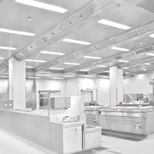 Sistemi di soffitti filtranti per cucine di Südluft